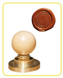 Сургучная печать шарик